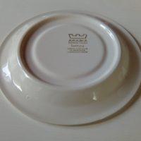 Faenza ruskeakukka teekupin asetti, Arabia