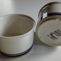 Faenza teekuppi, mustaraita, Peter Winqvist, Arabia