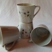 Lumikukka kahvikuppi, harmaa. Raija Uosikkinen. Arabia