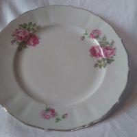 Ruusukuvioiset lautaset 2kpl, Arabia
