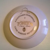 Aaallottaren hopeamalja, Topeliuksen satu keräilylautanen.