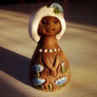 Tyttö figuuri, Elbogen Keramik