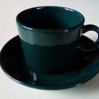 Teema, vihreä kahvikuppisetti, Arabia