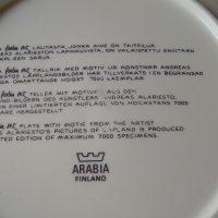 Pontikankeittäjät seinätaulu, Andreas Alariesto, Arabia