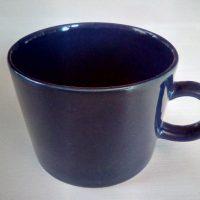 Teema kahvikuppi, tumman sininen. Arabia