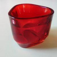 Tris kynttilälyhty, punainen, Alfredo Häberli. Iittala