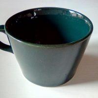 Kilta kahvikuppi, vihreä. Kaj Frank, Arabia
