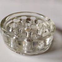 Kukkajalka lasia
